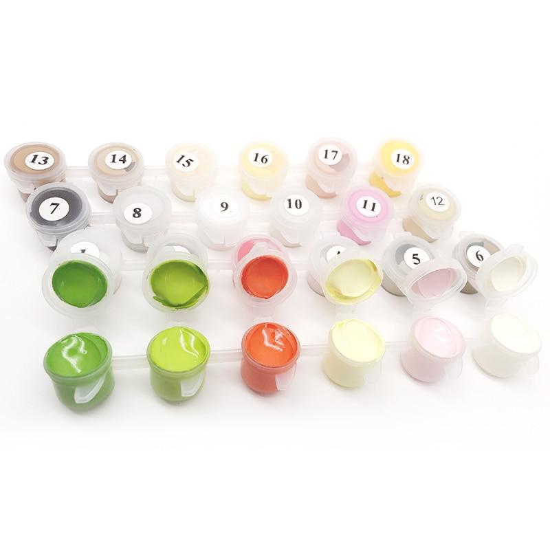 RUOPOTY-Cuadro de cielo de globos pintura por números, DIY